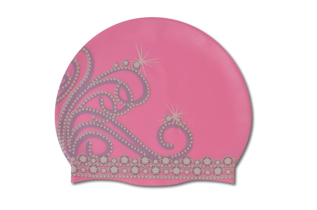 Princess Tiara Silicone Swimcap Podium Swimwear